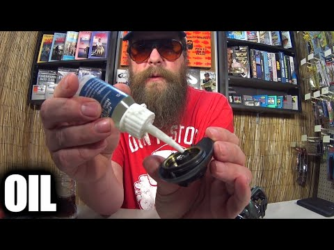 Noisy Baitcaster? Fishing Reel Oil Might Help With Casting!