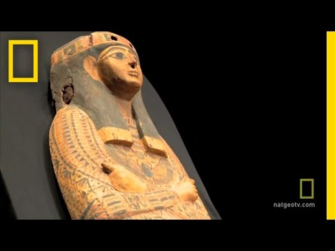 Stolen Sarcophagus Handed Over to Egypt | National Geographic