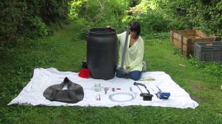 DIY biogas digester
