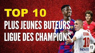 VIDEO: TOP 10 plus JEUNES BUTEURS en Ligue des Champions
