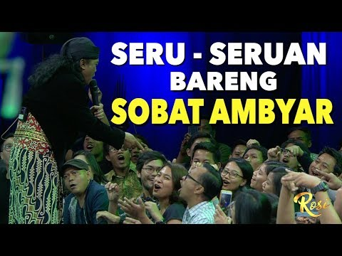 Seru Seruan Bareng Sobat Ambyar Didi Kempot The Godfather Of