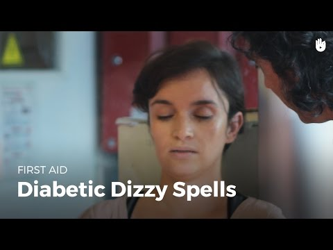 First Aid: Diabetic Dizzy Spells (Red Cross/Red Crescent)