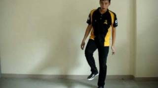 How To Melbourne Shuffle and Running Man - Kicks/2 Step Running Man