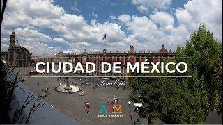 🇲🇽 Atardecer en Ciudad de Mexico en Timelapse I HD