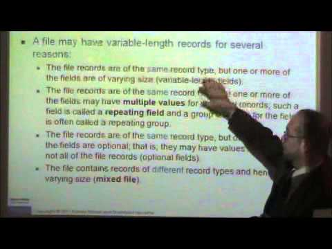 Disk Storage And File Format Part3.wmv