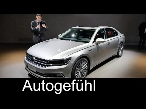 All-new VW Volkswagen Phideon motor show REVIEW new Upper-Class Sedan for China first check