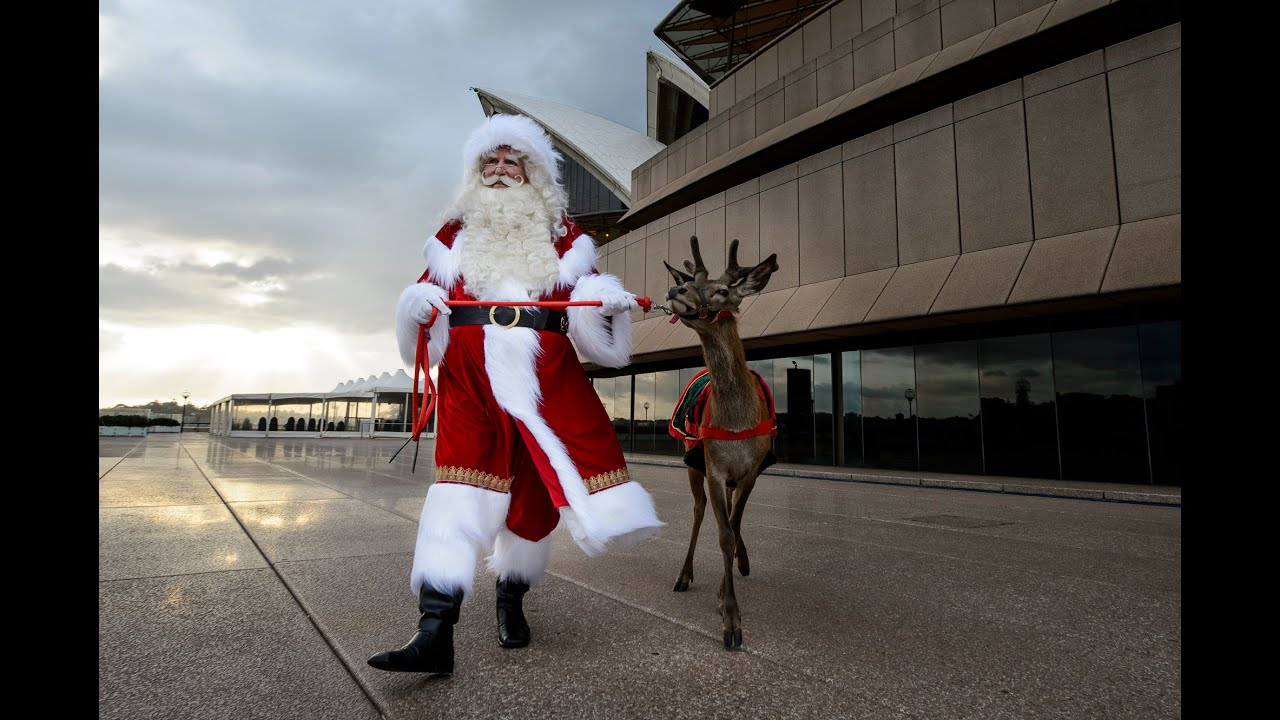 Sydney opera house santa at our youtube
