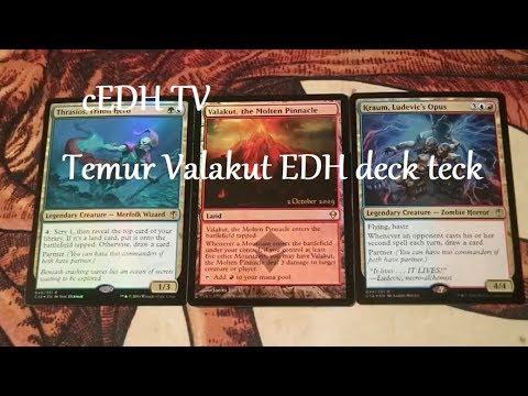 Temur Valakut cEDH deck tech