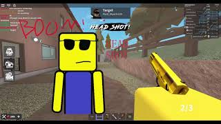 EVERYTHING IS OUT TO KILL ME!! | ROBLOX knife ability test gameplay