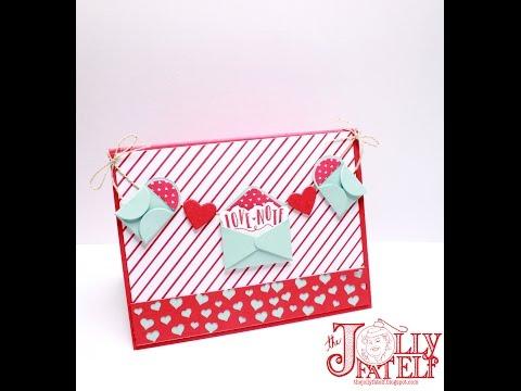 Stampin' Up! Sending Love Valentine #2