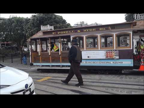 Cable Car Trip in San Francisco  -  California
