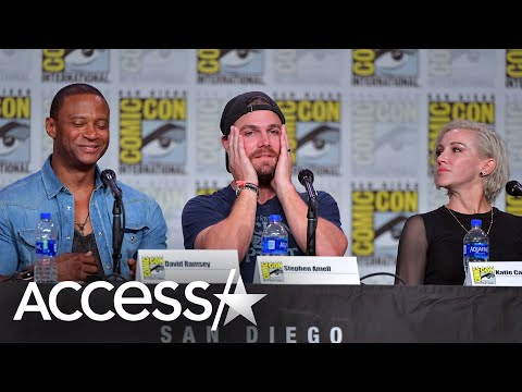 Arrow's Stephen Amell Suffers Panic Attack Mid-Interview