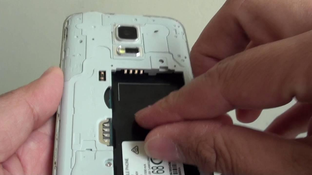 Samsung Galaxy S5 Mini Sim Karte.Samsung Galaxy S5 Mini How To Insert Remove Micro Sd Card