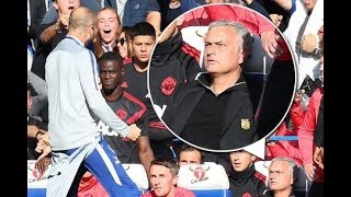 Mourinho sparks fight on touchline after Chelsea coach Marco Ianni celebrates equaliser 😡