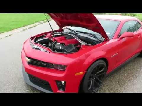 Repairable Salvage 2012 Chevy Camaro ZL1 only 6,000 miles