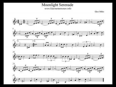 Moonlight Serenade -play Clarinet