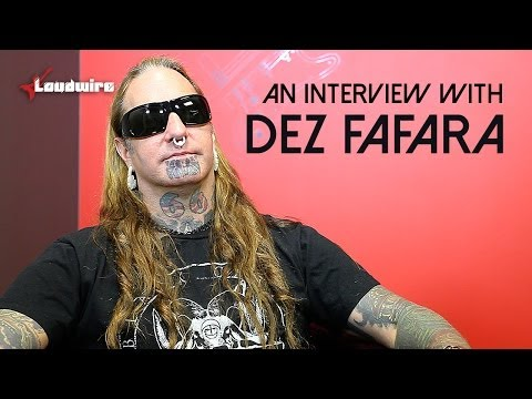 Dez Fafara Talks to Loudwire About Early Influences + More