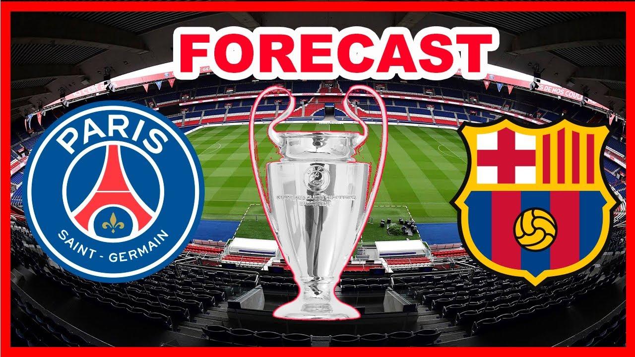 PSG vs Barcelona forecast live value