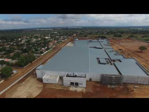 Progress of Novare Matola, Maputo Mozambique – April 2017