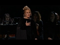 adele stops 2017 grammys george michael tribute performance im sorry i cant