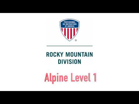 Alpine Level 1 Intro