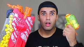 $1 NERF GUN vs $200 NERF GUN!!! (WORLD'S BEST NERF GUN!!)