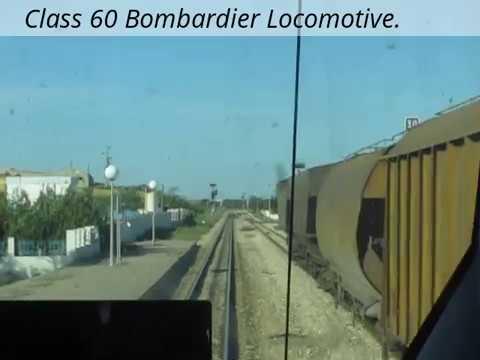 Train Ride in Tunisia.