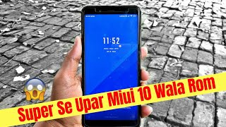 Latest Version Miui 10 Android 8.1 Oreo For Redmi Note 5 Pro | Masik 2.4 | Features and Changes