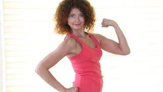Пилатес для похудения и тонуса мышц - Урок 3 (спина, плечи, косые мышцы)