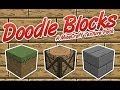 Minecraft Texture Pack Review - Doodle Blocks
