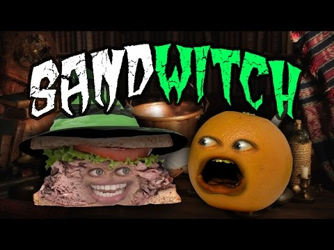 Annoying Orange - Sandwitch! #Shocktober (ft. Jess Lizama)