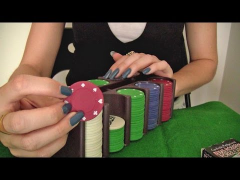 ASMR * Tapping & Scratching * Theme: Poker * Fast Tapping * No Talking * ASMRVilla