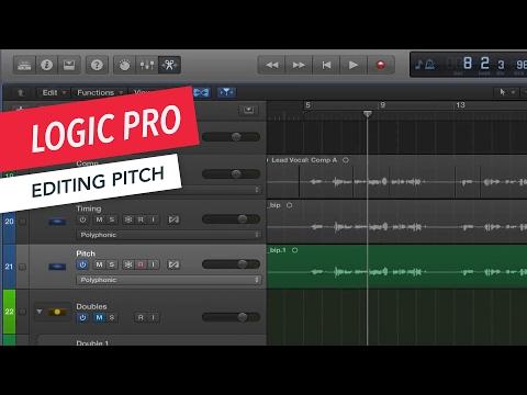 Logic Pro: Editing Pitch | Music Production | Tips & Tricks | Berklee Online