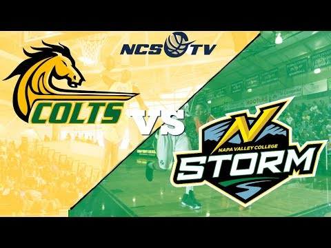 Cañada vs Napa Valley College Men's Basketball LIVE 12/16/17