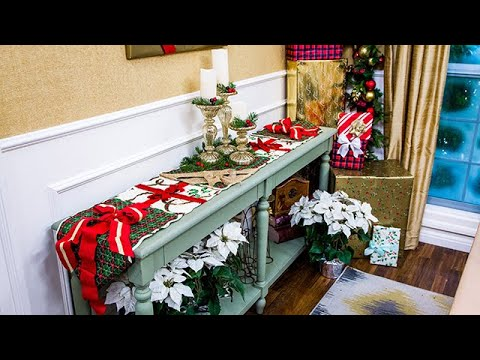 Christmas Table Runner Diy.Diy Christmas Table Runner Home Family