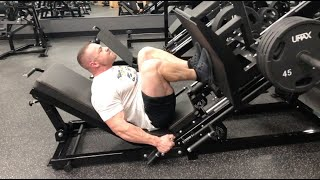Pro Comeback - Day 76 - Leg Day Supersets!