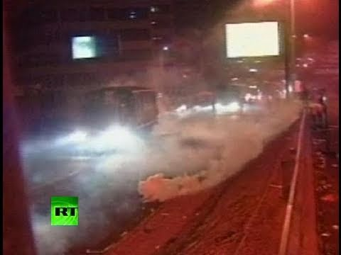 Ecuador Chaos: Video of fierce riots as outraged cops attempt coup