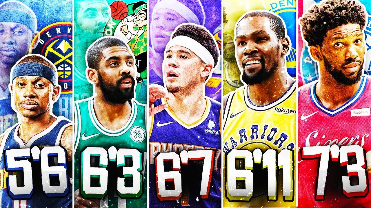 Best Players In Nba 2019 BEST NBA PLAYER FROM EACH HEIGHT IN 2019   YouTube