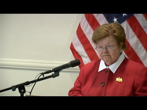 Barbara Mikulski, Longest-Serving Woman in Senate, Retiring