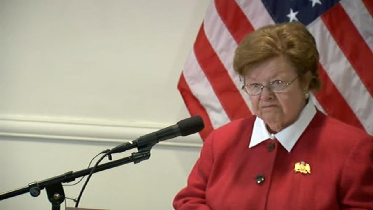 Barbara Mikulski, Longest-Serving Woman in Senate, Retiring ...