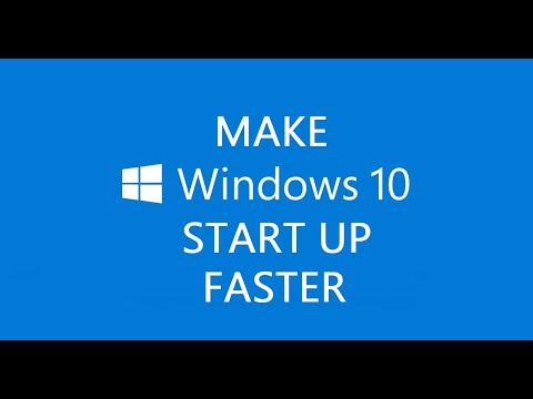 How To Make Windows 10 Startup Faster ( Will Work On Windows 7/8/8.1/10 )