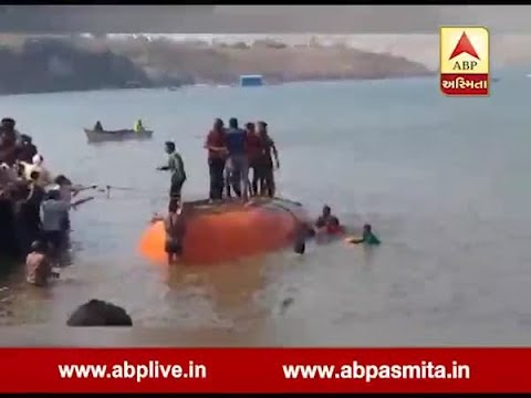 Six people died after a boat capsized in Narmada river in Nandurbar