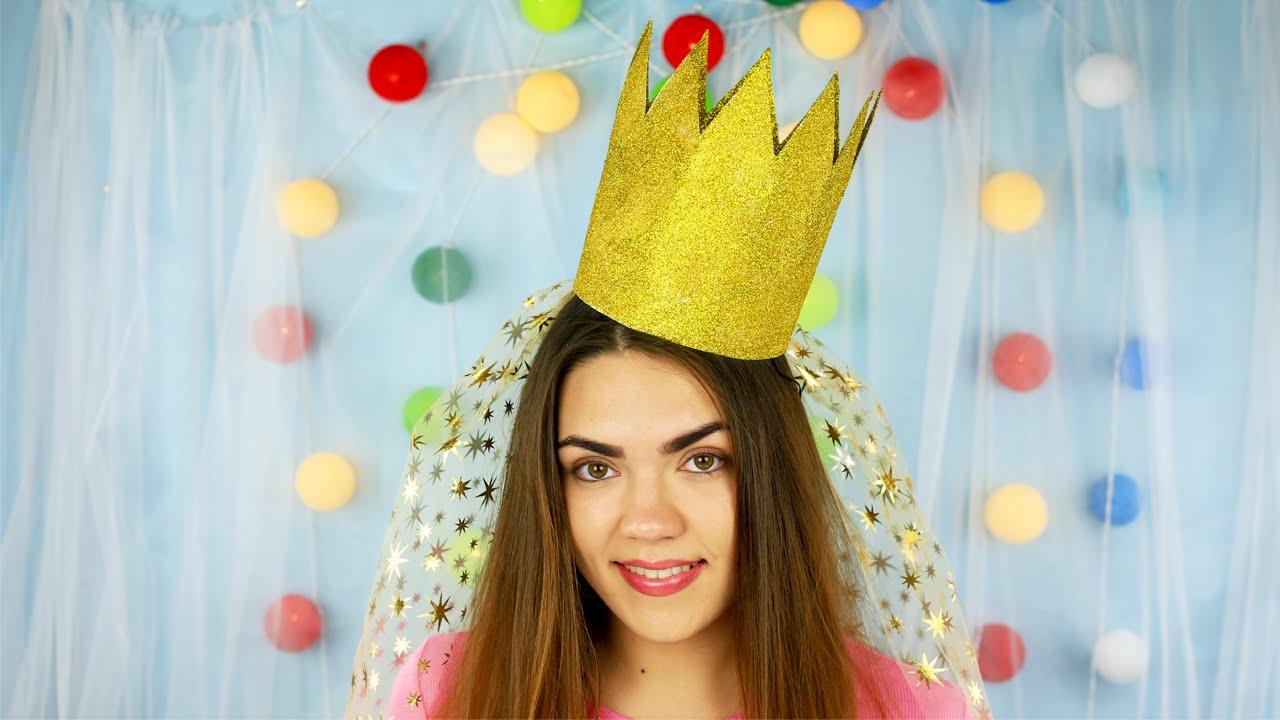 Корона из бумаги для принцессы своими руками фото 157