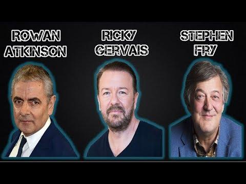 Ricky Gervais - Stephen Fry - Rowan Atkinson on Free speech
