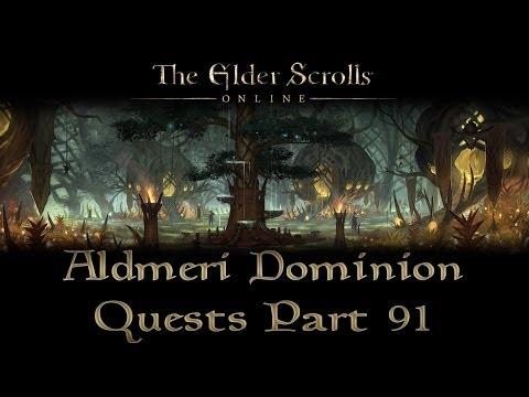 ESO - Aldmeri Dominion Quests - Part 91 - Greenshade Part 6 - The Fading Tree