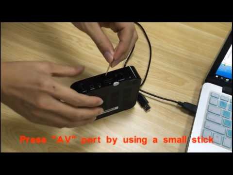 Repeat Trongle how to Flash Update Firmware the TV BOX with USB