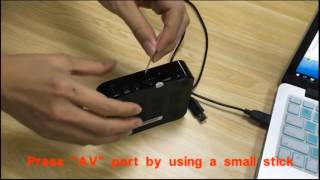 trongle how to flash update firmware the tv box with usb cbale