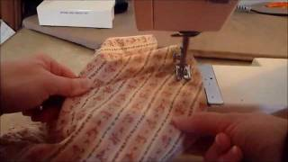 Pioneer Style Bonnet(Learn how to make a pioneer style bonnet., 2012-02-11T05:01:53.000Z)