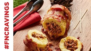 How to Make Swineapple (Pork-Stuffed Pineapple) | Food Network