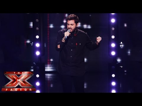 Andrea Faustini Sings Queen's Somebody To Love | Live Week 5 | The X Factor UK 2014